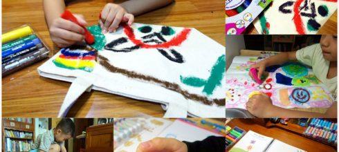 [現貨新品團] 小小孩的美術用品 英國Little Brian布水彩棒及無毒水擦粉筆 有機顏料好安心