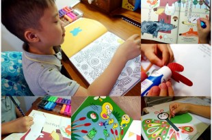 3歲up美術運筆遊戲|My Little Artist: 100 Creative Activities|畫畫撕貼和剪紙描線