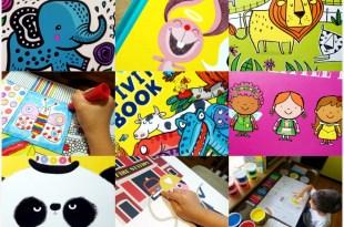 [揪團]8月書團:硬頁書,美術畫冊,小動腦IQ自然百科遊戲盒,The Giggly Guide育童聖經,找找書
