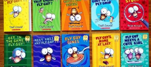 [培養英文耳] 蘇斯博士閱讀獎| Fly Guy Phonics Boxed Set |蒼蠅小子自然發音有聲CD書
