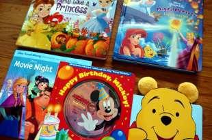 迪士尼的親子共讀書單|公主大集合、經典有聲CD書、大尺寸翻翻書、小熊維尼感謝書