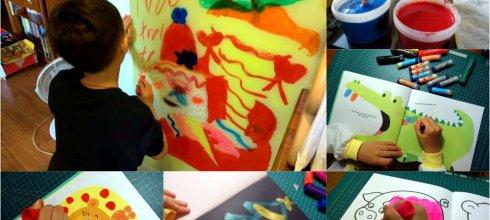 用了快2年,超好用畫畫用品|英國Little Brian無毒可洗式水彩棒|打發時間畫冊著色本分享