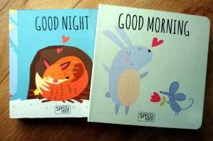 親子共讀小秘訣:定時定量很重要|Sassi Junior早安晚安形狀積木書盒
