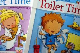 戒尿布必備|Ready to Go! Toilet Time: A training kit我會上廁所故事書盒|還有好棒貼紙