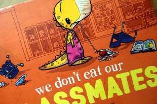 高潮迭起的We don't eat our classmates|孩子會聽到屏氣凝神的故事書