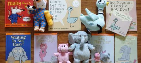 Mo Willems英文繪本●Elephant&Piggie系列●還有可愛的Yottoy玩偶搭配共讀