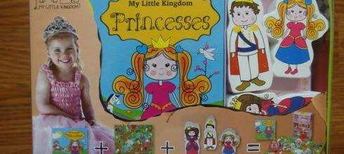 來自丹麥的想像力教具●My Little Kingdom系列木玩拼圖書盒●女寶公主精靈篇