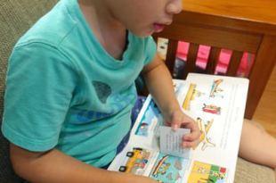 跳字問題-慢速眼球追視動作加強●建立孩子慣用眼●