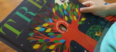 一顆大樹看四季●Tree: A Peek-Through Picture Book●詩意的繽紛繪本