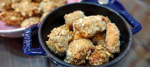 [幼兒雞塊料理筆記] 不用油炸, 也不用氣炸鍋●烤的鹹酥雞●小小孩吃也很適合