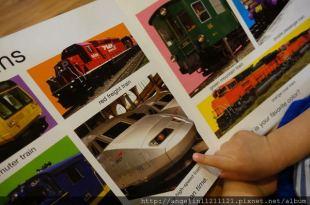 [硬頁書單] 五顆星~小人必愛●My Big Train Book大尺寸火車書●古肥玀硬頁翻翻書