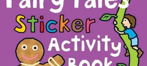 Fairy Tales Sticker Activity Fun童話故事貼紙書