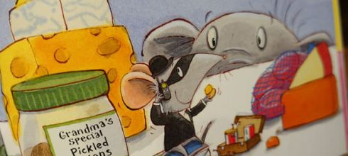 同大爺書報●The Great Cheese Robbery ●重大乳酪搶劫案(幼兒安全教育書單)