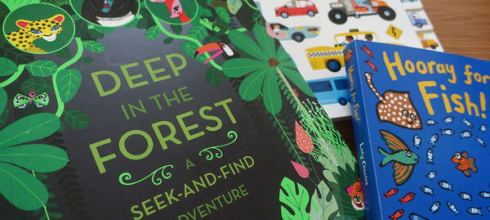引導孩子專注力●大尺寸Deep in the Forest●共讀「找找書」的經驗分享