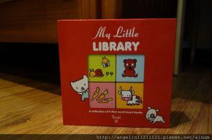 [同大爺書報]忍不住推薦●My Little LIBRARY●九宫格隨身硬頁小書