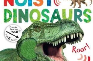 [同大爺書報] 準備入手●Noisy Dinosaurs●我的第一本恐龍觸摸音效書