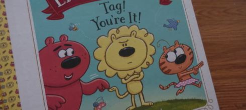 [幼兒品格繪本] ●Lion&Tiger&Bear:Tag! You're It!● 啊哈,我抓到你了