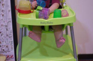 [兒物]同大爺私物大公開-超百變的Baby Babe餐椅
