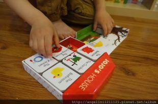 適合1-3歲的硬頁書單●JOJO'S HOUSE立體書屋●小人必愛的Playtown翻翻書