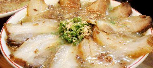 ♫豪氣,盛開的叉燒花!!熊本拉麵_天外天「加映熊本市電」