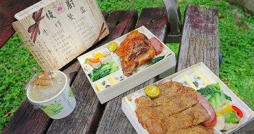 後廚手作餐盒|二訪台中西區平價小豬餐盒便當店,招牌炸排骨只要85元,肉大到看不見飯!