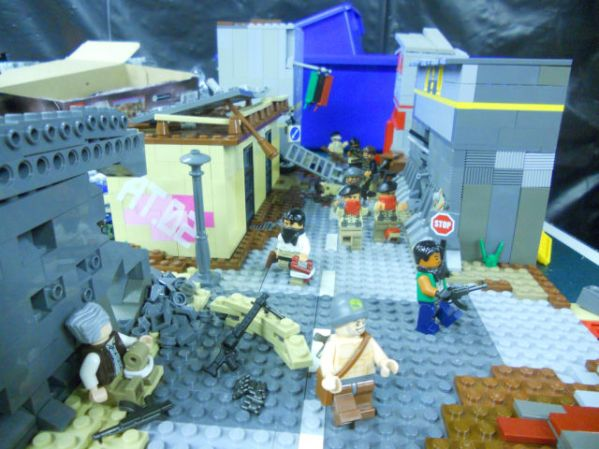 2011 news reconstructed in lego 640 10 wtf cool stuff the best right places my fave meme funny pics libertarian politics left funny video funny video funny politics foreigners the daily darwin the daily ball crazy funny video amazing cool stuff  2011 Top Headlines Done in Legos (8 pics)