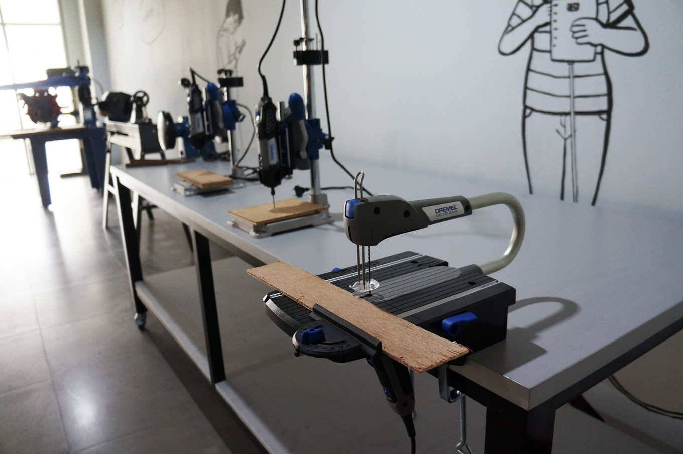 jakarta creative hub technologies like woodworking metal machinery industrial 3d printers photography and video making
