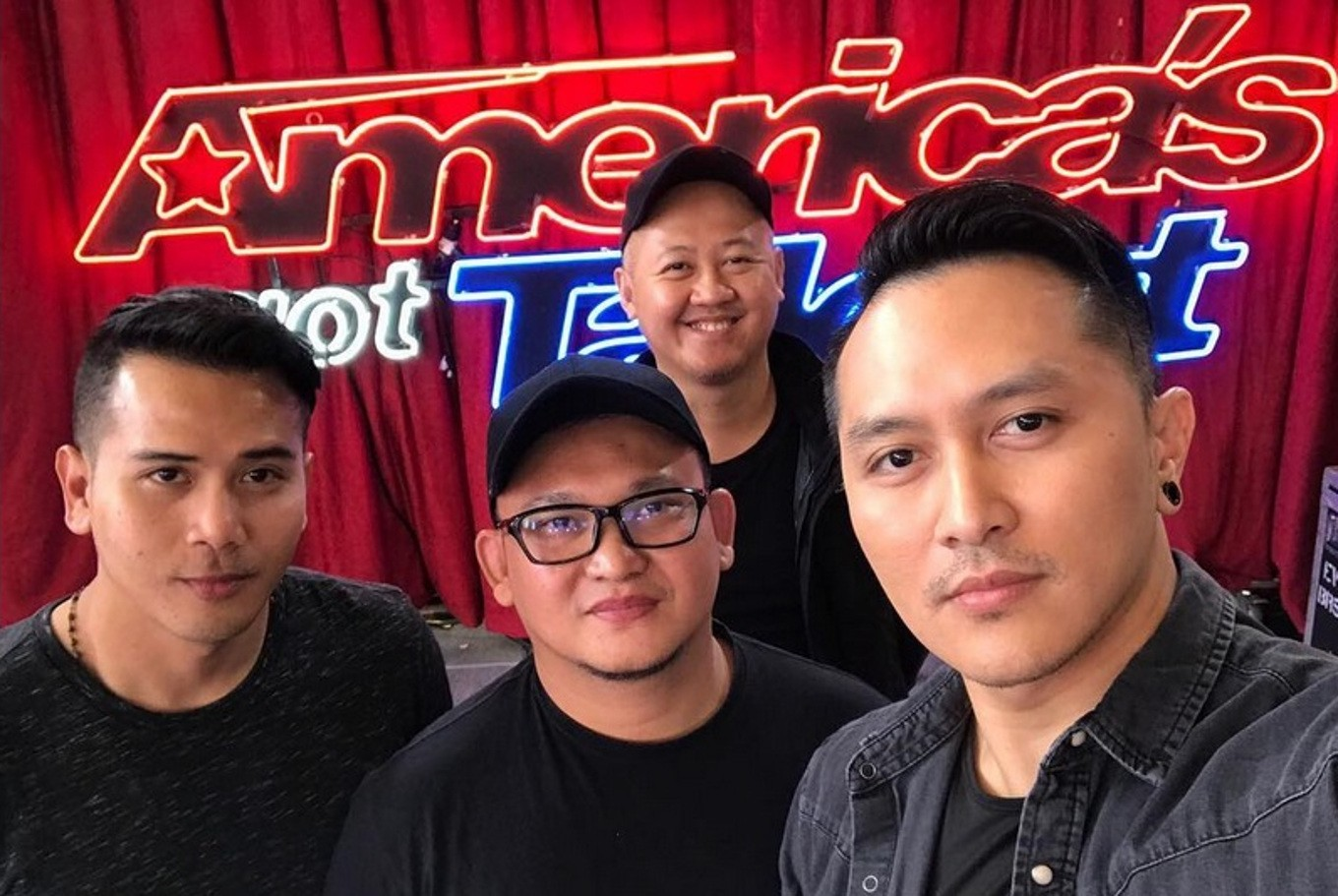 demian and his crew prior to performing on america s got talent instagram com demianaditya file