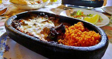 [土耳其]Belisirma Restaurant-隱身在溪谷的小木屋Kiremitte 鐵板陶盤料理 土耳其美食