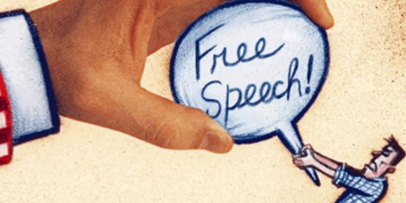 言論自由好奢侈