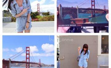 美國舊金山金門大橋Golden Gate Bridge+ 藍瓶瓶咖啡Blue Bottle Coffee 自由行必去景點推薦 ♥ 小Connie愛夢遊。遊記