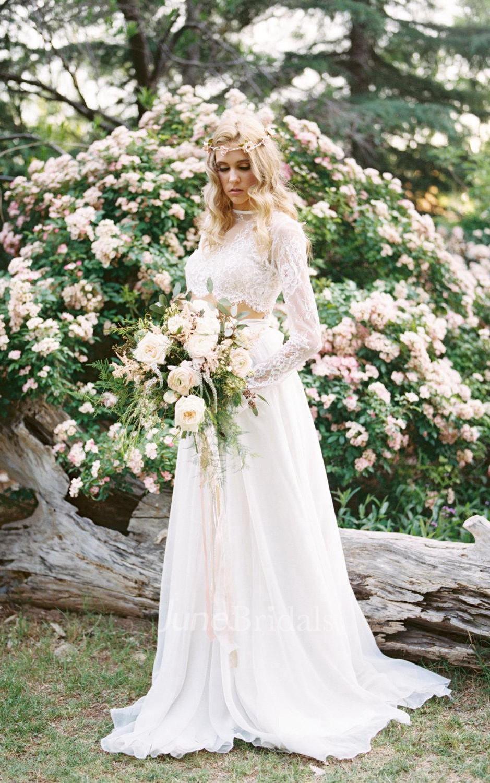 cheap bohemian wedding dresses bohemian wedding dress cheap Wedding Separate Florence Skirt Chiffon 10 Train Dress