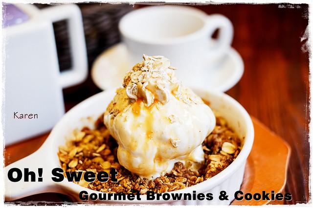 [台中。西屯區] oh! Sweet Gourmet Brownies & Cookies 美式甜點餐廳