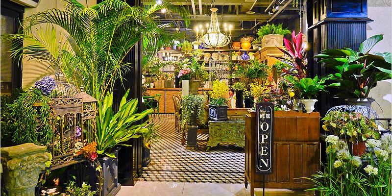 台中南屯泰式料理 | Thaï.J泰式餐廳 (大墩路家樂福)。我在浪漫的花園裡吃著美味的泰式料理。