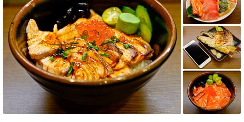 【再訪】築地町食堂-台中平價日式料理,比iphone6 plus還大的烤鮭魚頭定食 @台中市南區忠孝路182號