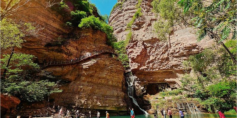 大陸河南旅遊   太行大峽谷、桃花谷、太行天路。大陸AAAAA級旅遊景區,令人嘆為觀止、不能錯過的峽谷景區。(文中有影片分享)