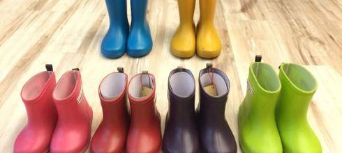 【育兒好物】柔軟好穿的日本製stample兒童雨鞋!