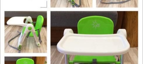 【育兒好物】Apramo多功能折疊式兒童餐椅!