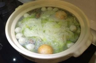 柔媽咪廚房~干貝排骨酥海味細麵!!
