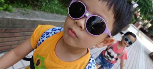 【育兒好物】炎炎夏日防曬好物~法國Ki ET LA幼童太陽眼鏡及遮陽帽!
