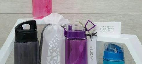 【家庭好物】一瓶多用的LUDAVI多功能時尚鑽石水瓶