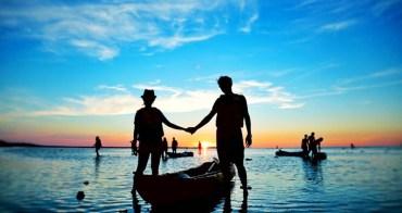 【澎湖四天三夜秘境走跳】Day2:澎湖北海秘境漂流─搭上獨木舟航向海洋之心,獨享夢幻夕陽美景!