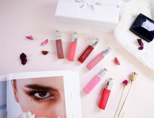 <唇彩>本季最燒的唇彩!Dior Lip Tattoo 癮誘超模染唇露全試色。
