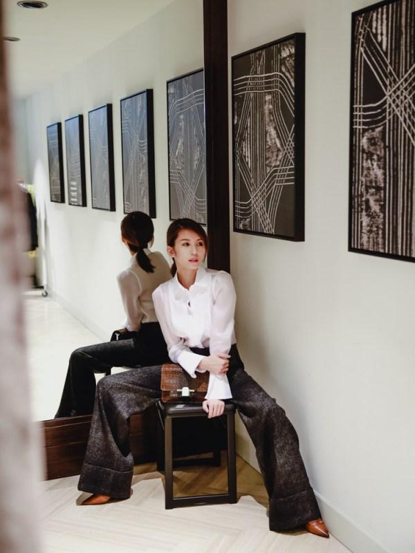 <穿搭>展現簡約俐練的自信美。Massimo Dutti。