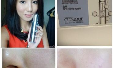 <修護>快速修護曬傷, 毛孔鬆弛, 細紋, 暗沉! 倩碧智慧科研修護精華。