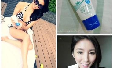 <防曬>下水也不怕! 超好用的Coppertone確不同水嫩白敏感肌臉部專用防曬乳液。