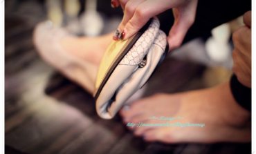 <美鞋>超柔軟的折疊娃娃鞋。Cocorose London。