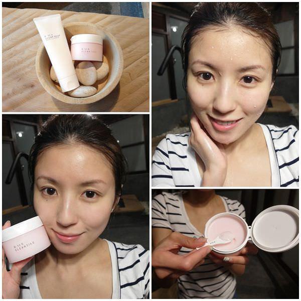 <清潔>100%潔淨不緊繃! RMK洗顏皂霜EX&#038;玫瑰潔膚凝霜。