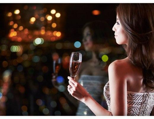 <影音>幸福的氛圍。Moët Rosé Impérial酩悅粉紅香檳。