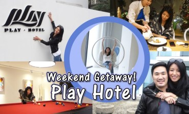 <遊記>兩天一夜宜蘭staycation! Play Hotel。